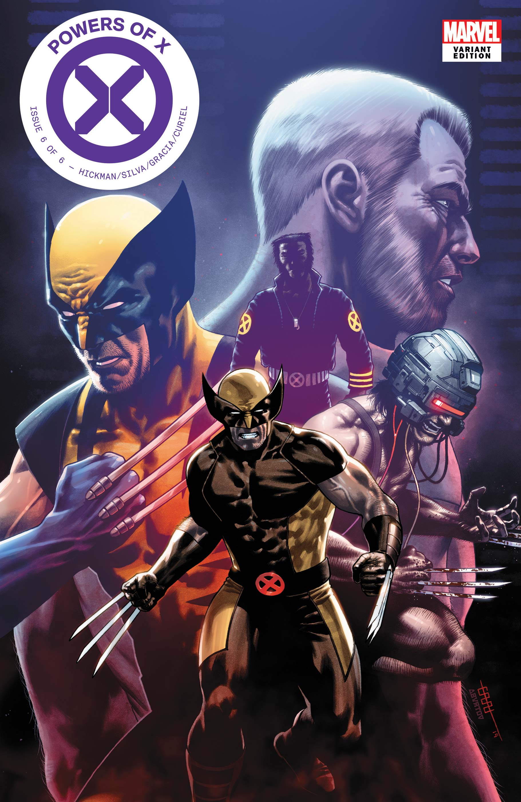 Powers of X (2019) #6 (Variant)