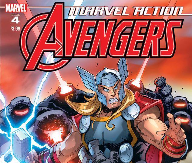 Marvel Action Avengers #4