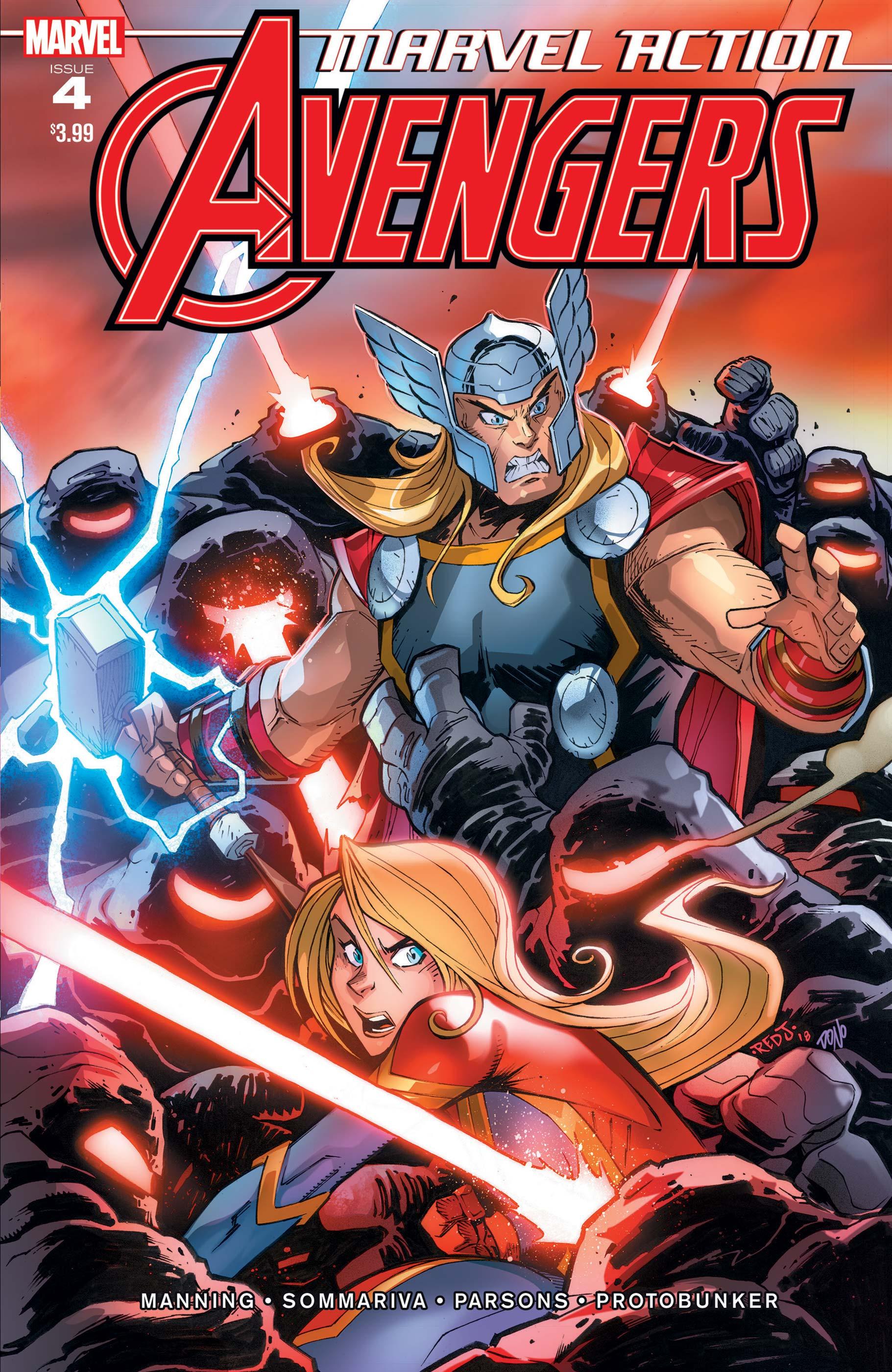 Marvel Action Avengers (2018) #4