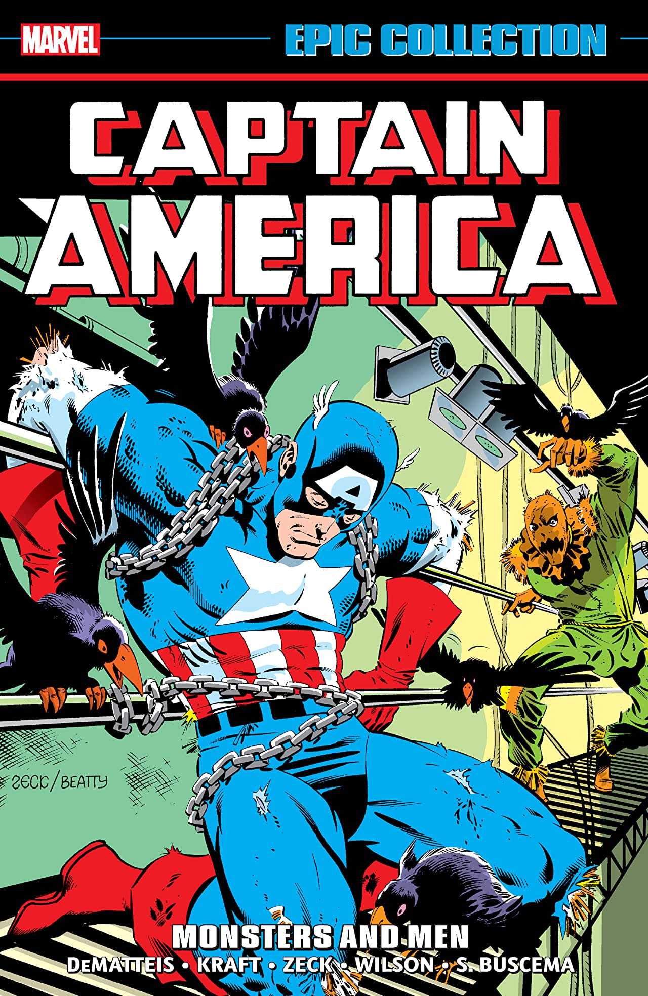 Captain America Epic Collection: Monsters and Men (Trade Paperback)