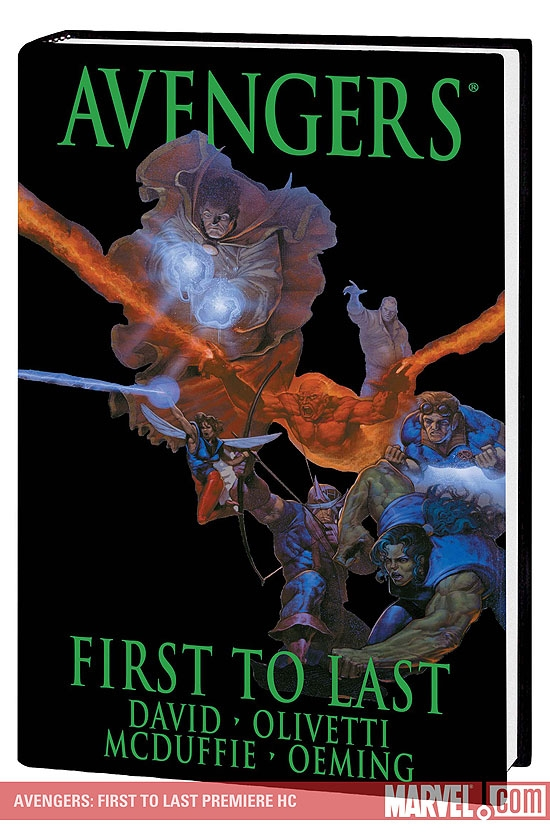 AVENGERS: FIRST TO LAST PREMIERE HC (Hardcover)