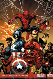 Avengers/Invaders (2008) #1 (FINCH VARIANT)