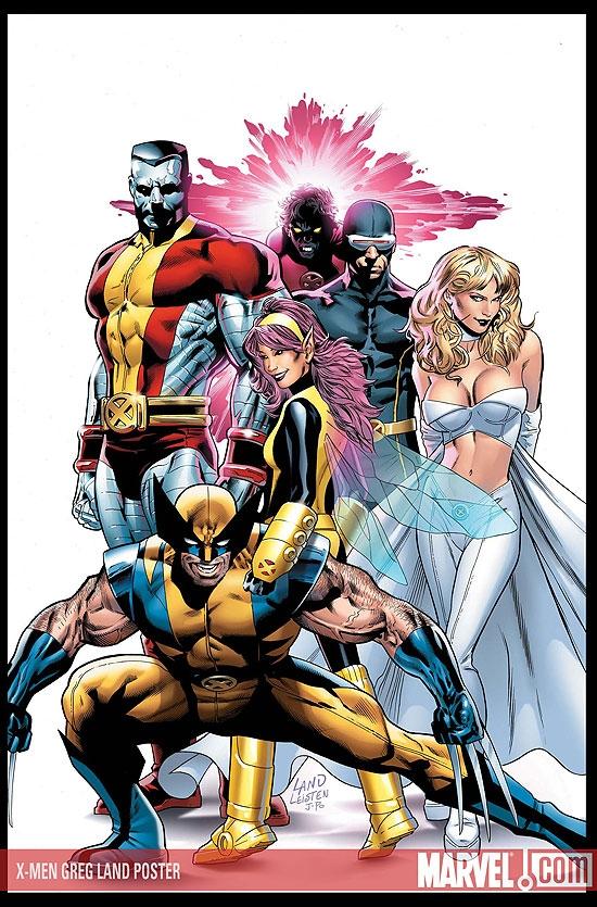 X-Men Greg Land Poster (2008)