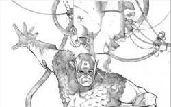 Sketch by Lee Garbett
