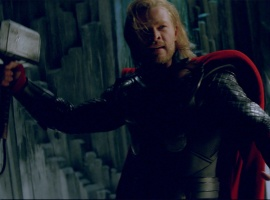 Chris Hemsworth stars in Thor