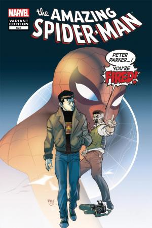 Amazing Spider-Man #624  (YOU'RE FIRED VARIANT)