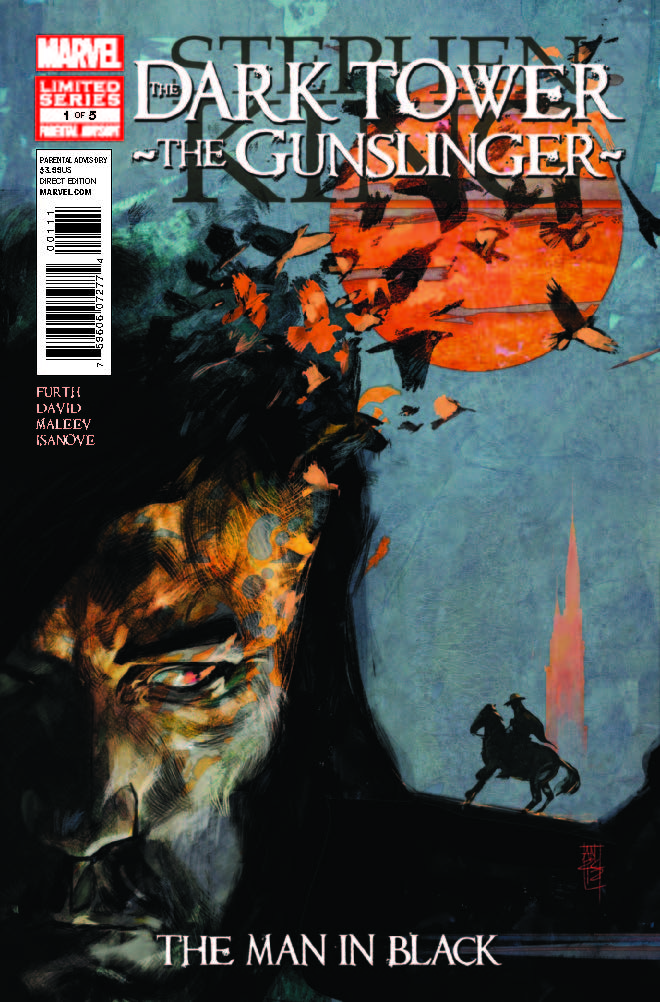Dark Tower: The Gunslinger - The Man In Black (2012) #1