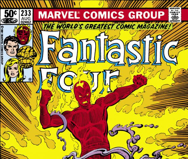 Fantastic Four (1961) #233 Cover