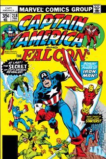 Captain America (1968) #218