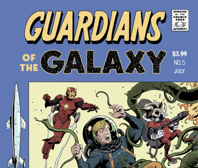 GUARDIANS OF THE GALAXY 5 RIVERA VARIANT (NOW, WITH DIGITAL CODE)
