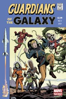 Guardians of the Galaxy (2013) #5 (Rivera Variant)