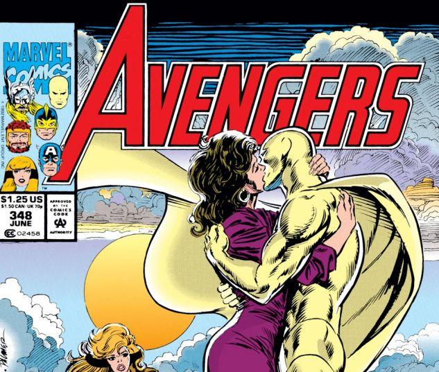 Avengers (1963) #348 Cover