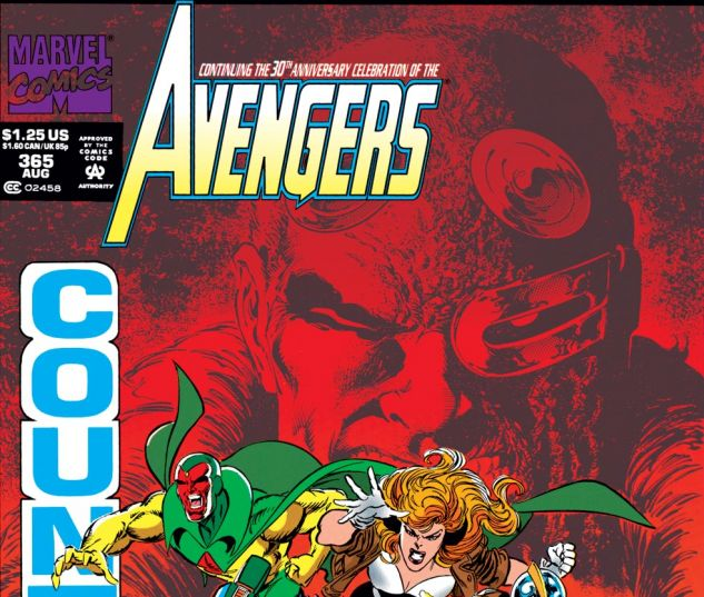 Avengers (1963) #365 Cover