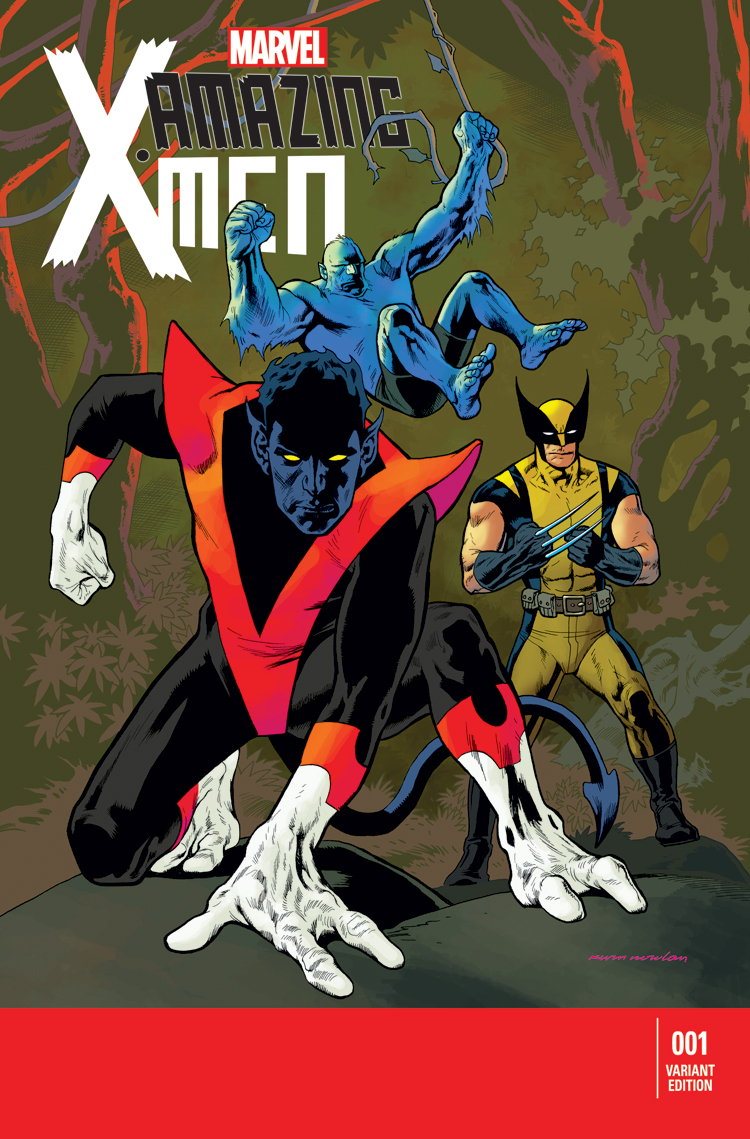 Amazing X-Men (2013) #1 (Nowlan Variant)