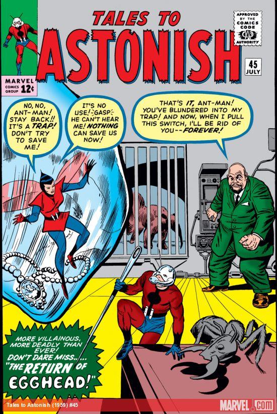 Tales to Astonish (1959) #45