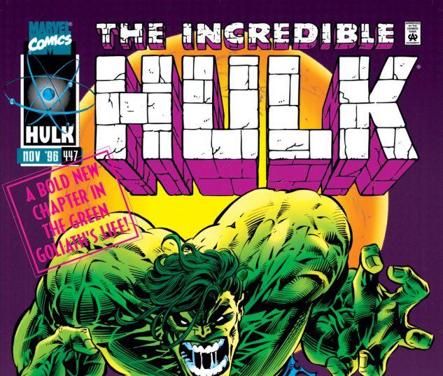 Incredible Hulk (1962) #447 Cover