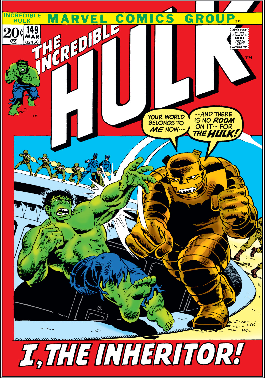 Incredible Hulk (1962) #149