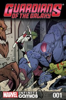 GUARDIANS OF THE GALAXY INFINITE #1