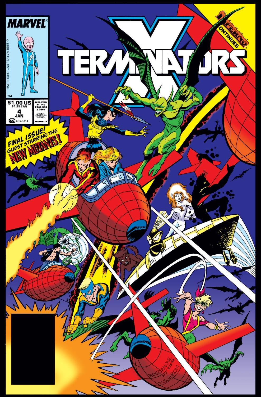 X-Terminators (1988) #4