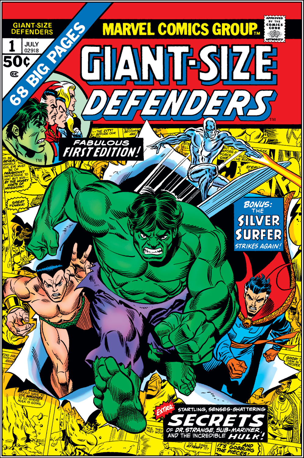 Giant-Size Defenders (1974) #1