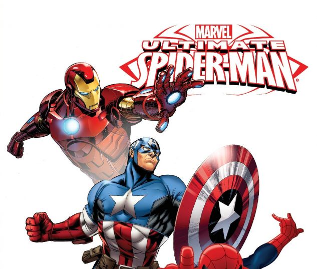 cover from Marvel Universe Ultimate Spider-Man & the Avengers (2016)