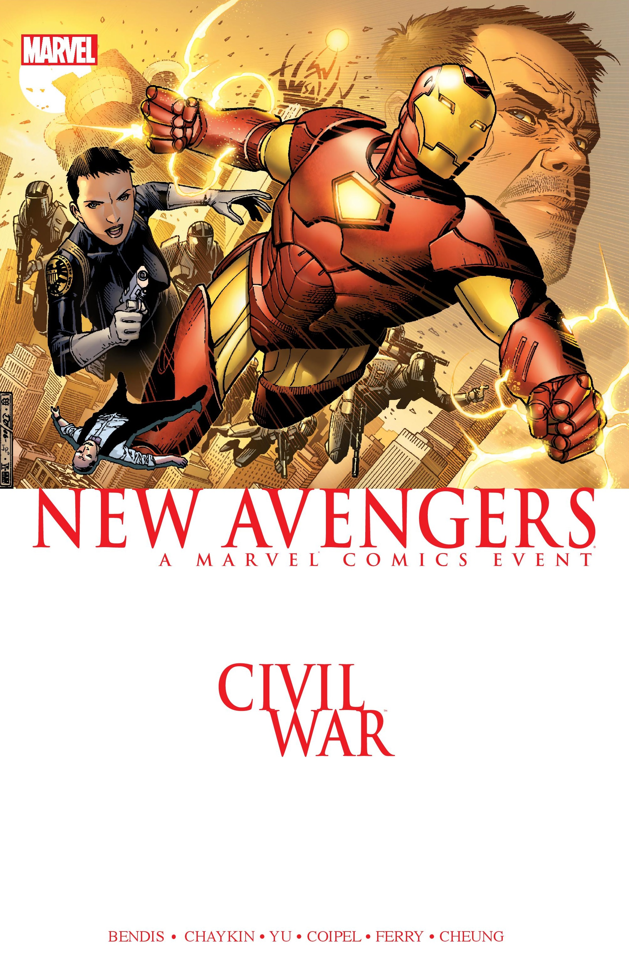 CIVIL WAR: NEW AVENGERS TPB (Trade Paperback)