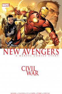 Civil War: New Avengers (Trade Paperback)