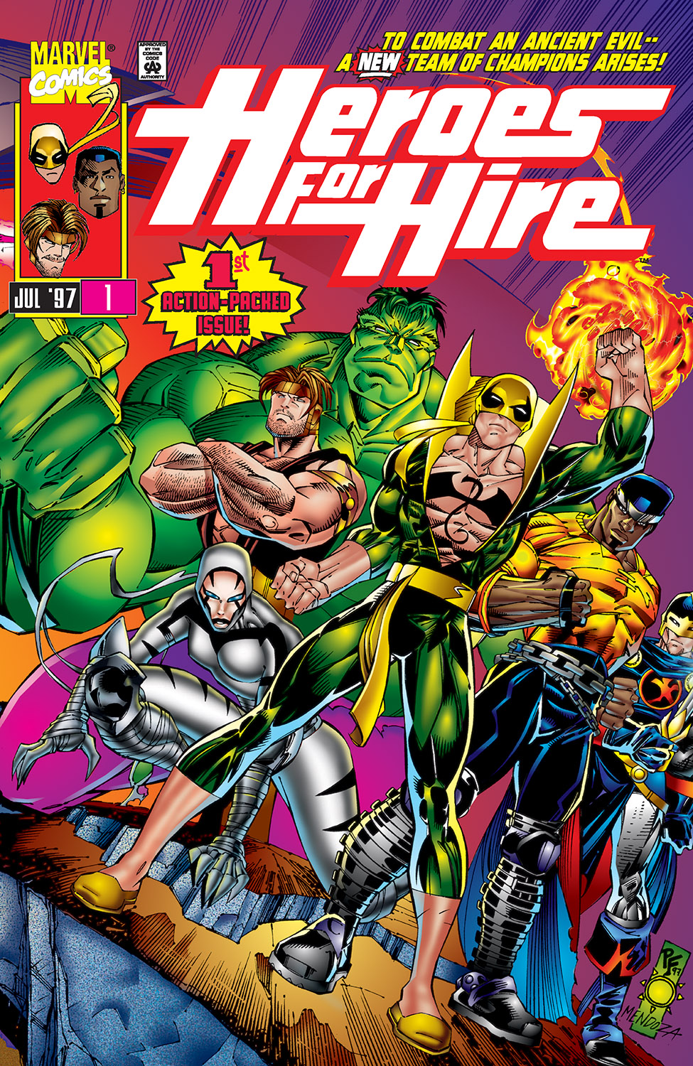 Heroes for Hire (1997) #1