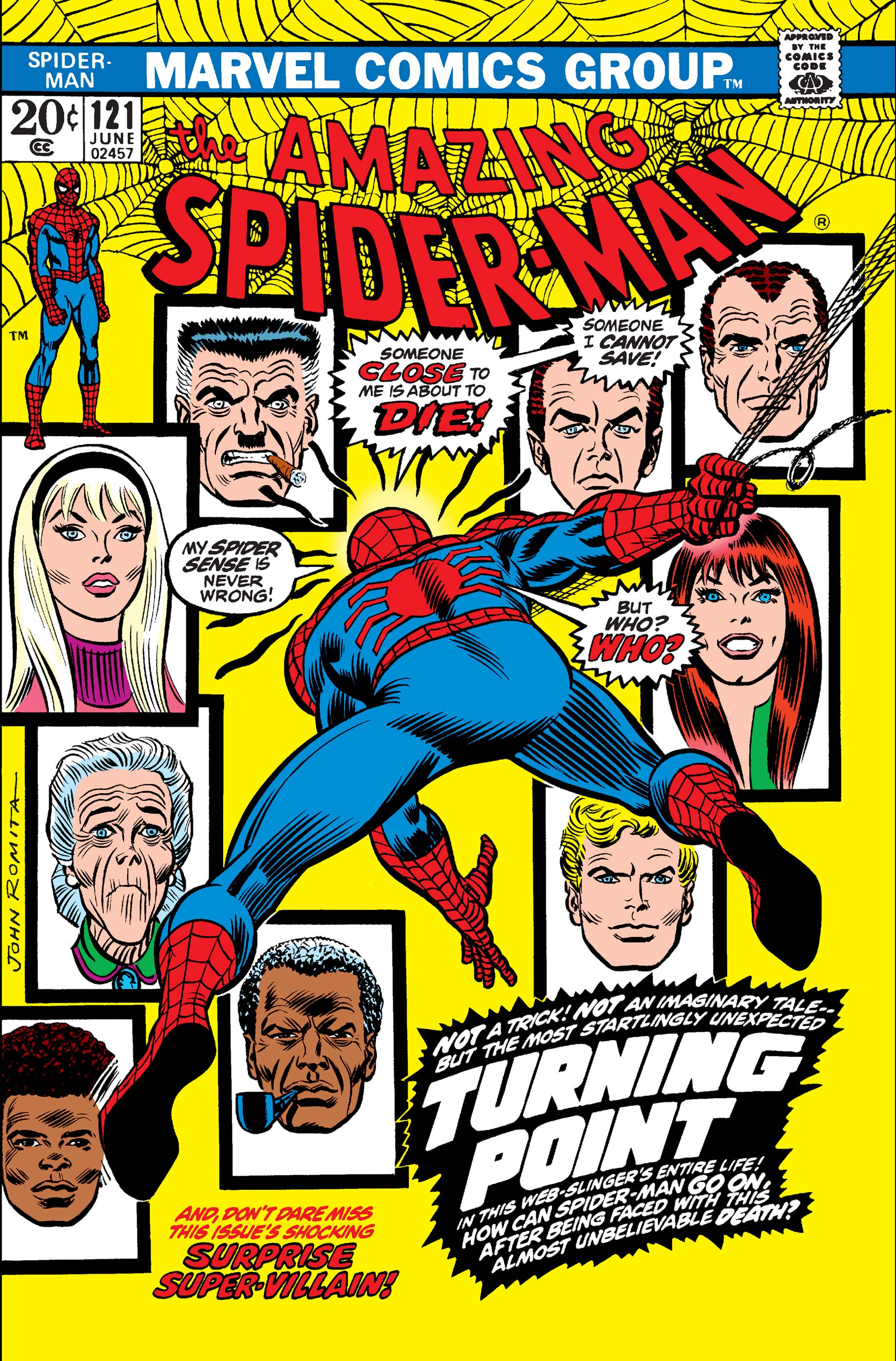 The Amazing Spider-Man (1963) #121