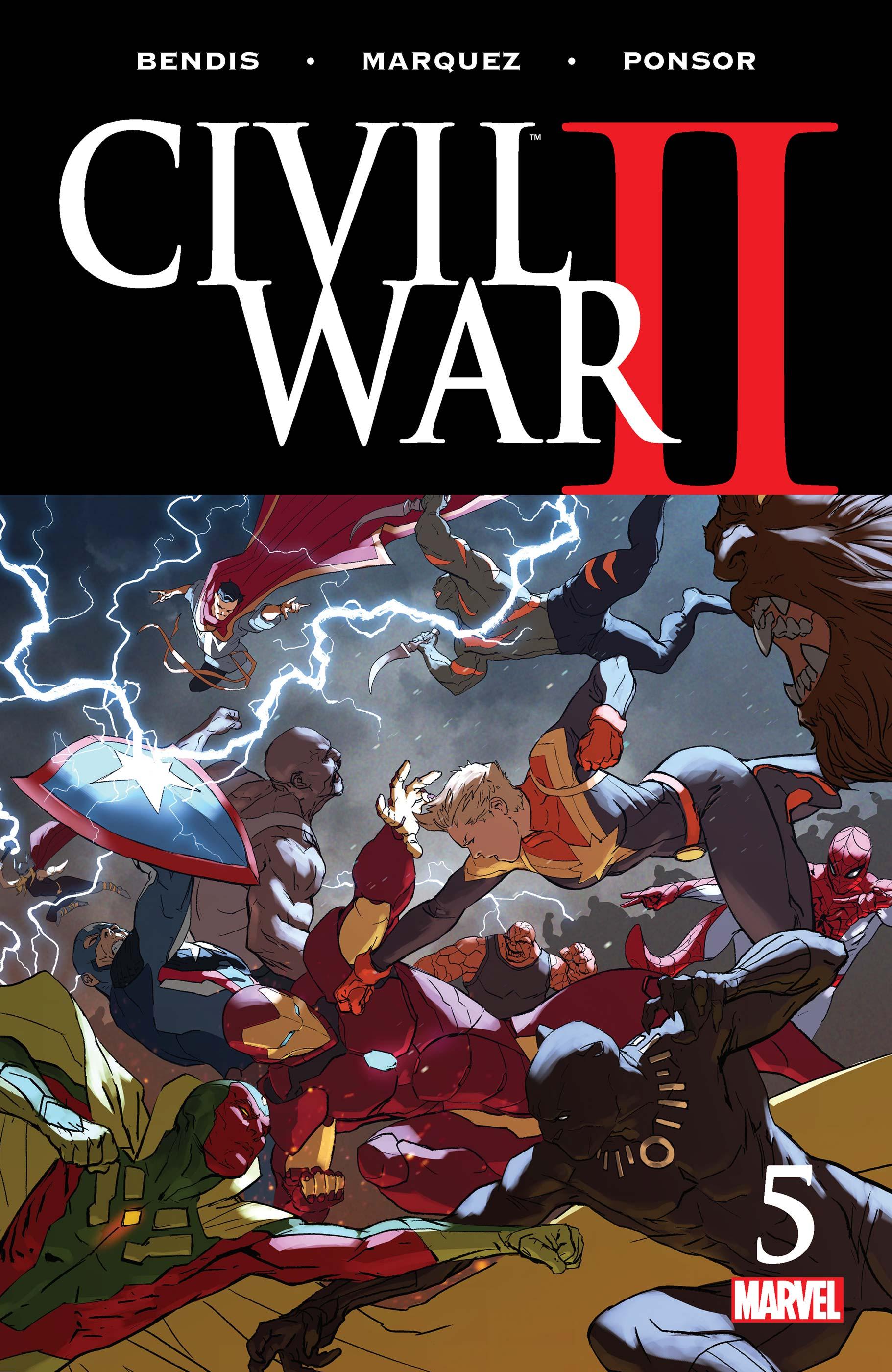 Civil War II (2016) #5