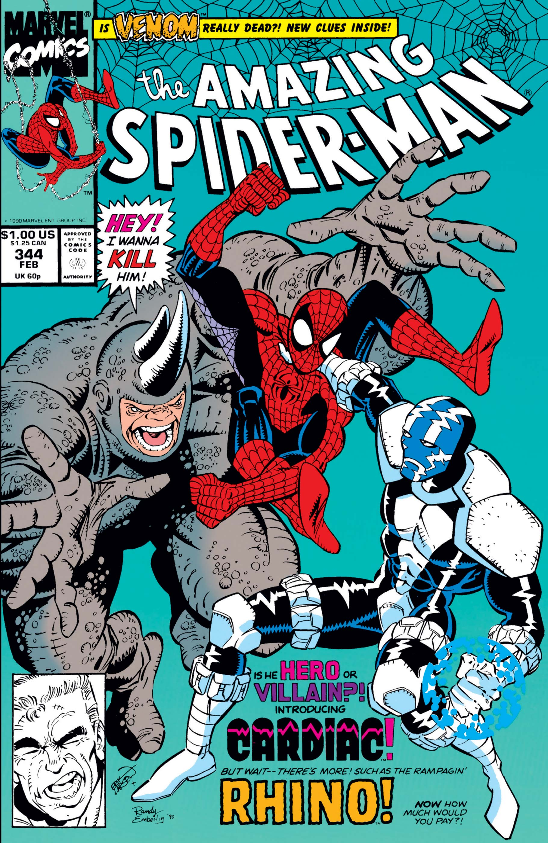 The Amazing Spider-Man (1963) #344