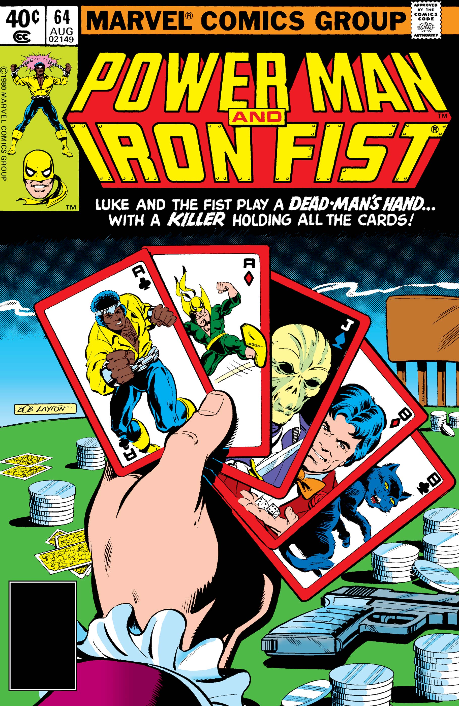 Power Man and Iron Fist (1978) #64