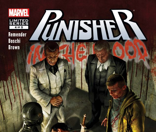 PUNISHER: IN THE BLOOD (2010) #4