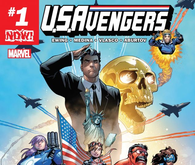 cover from U.S.Avengers (2016) #1