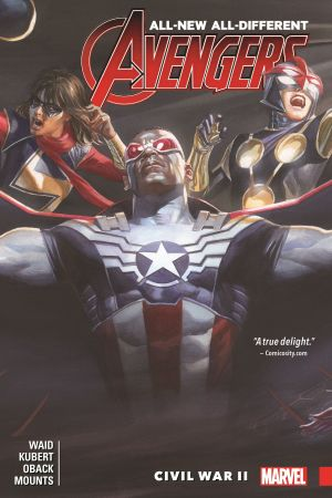 All-New, All-Different Avengers Vol. 3: Civil War II (Trade Paperback)