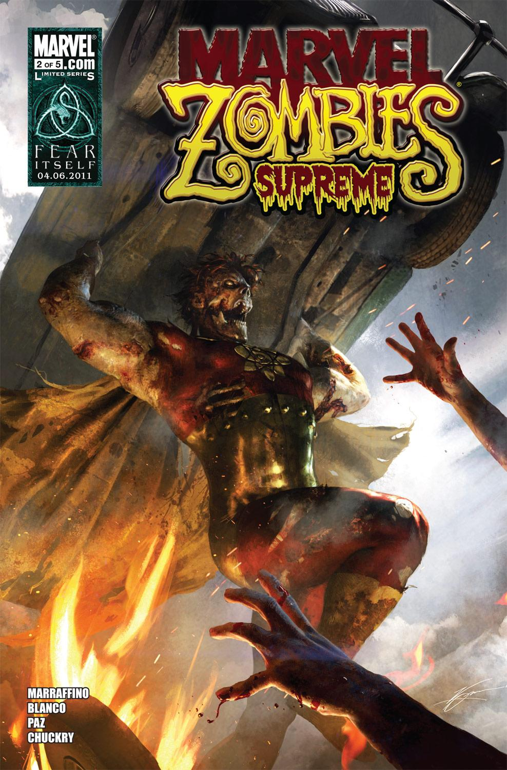 Marvel Zombies Supreme (2010) #2