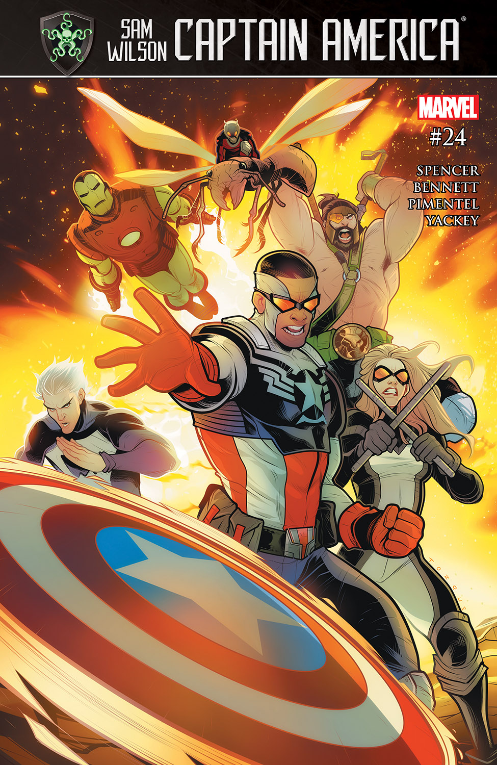 Captain America: Sam Wilson (2015) #24