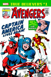 True Believers: Kirby 100th - Avengers: Captain America Lives Again! #0