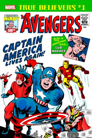 True Believers: Kirby 100th - Avengers: Captain America Lives Again! (2017)