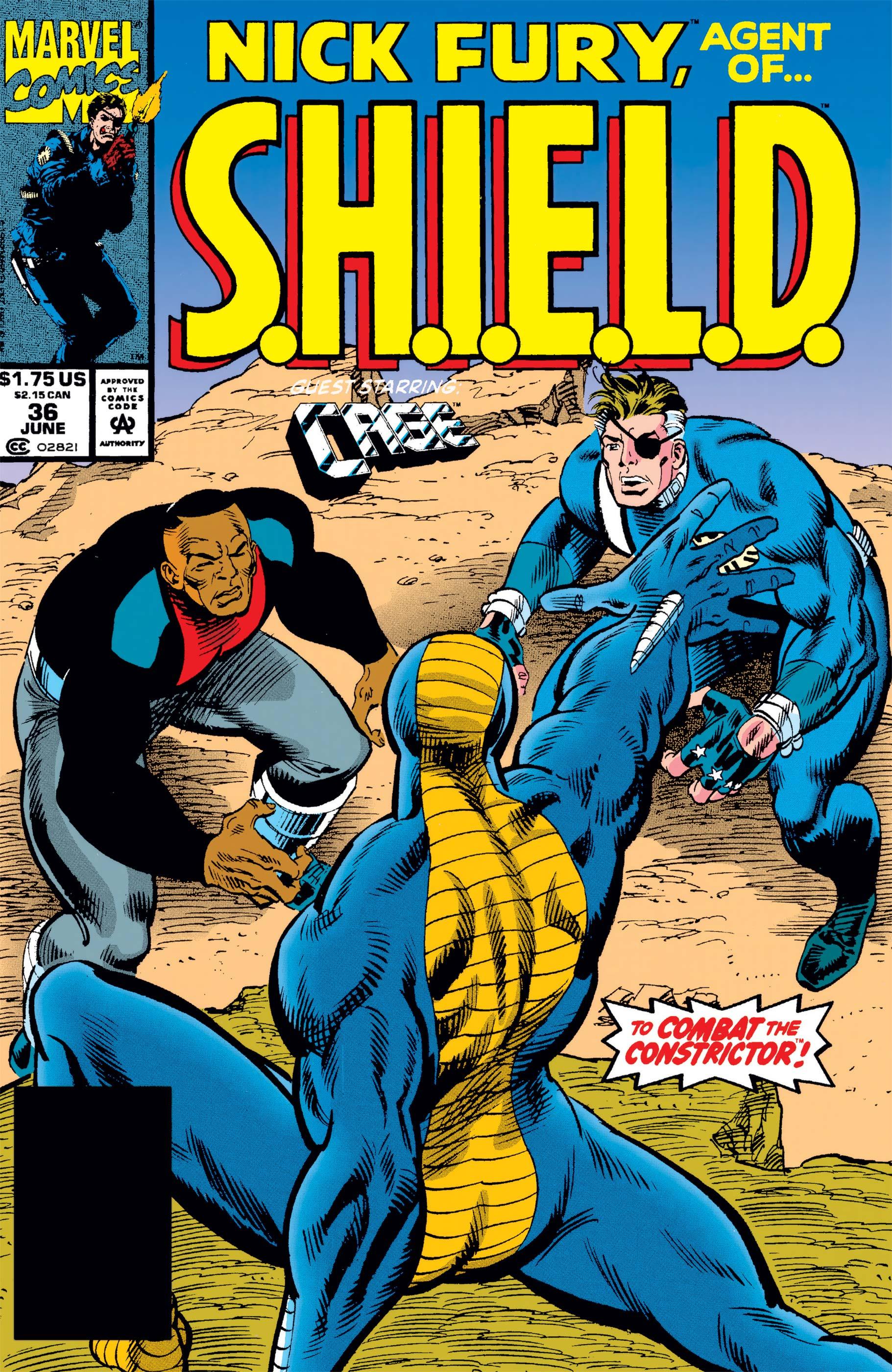 Nick Fury, Agent of S.H.I.E.L.D. (1989) #36