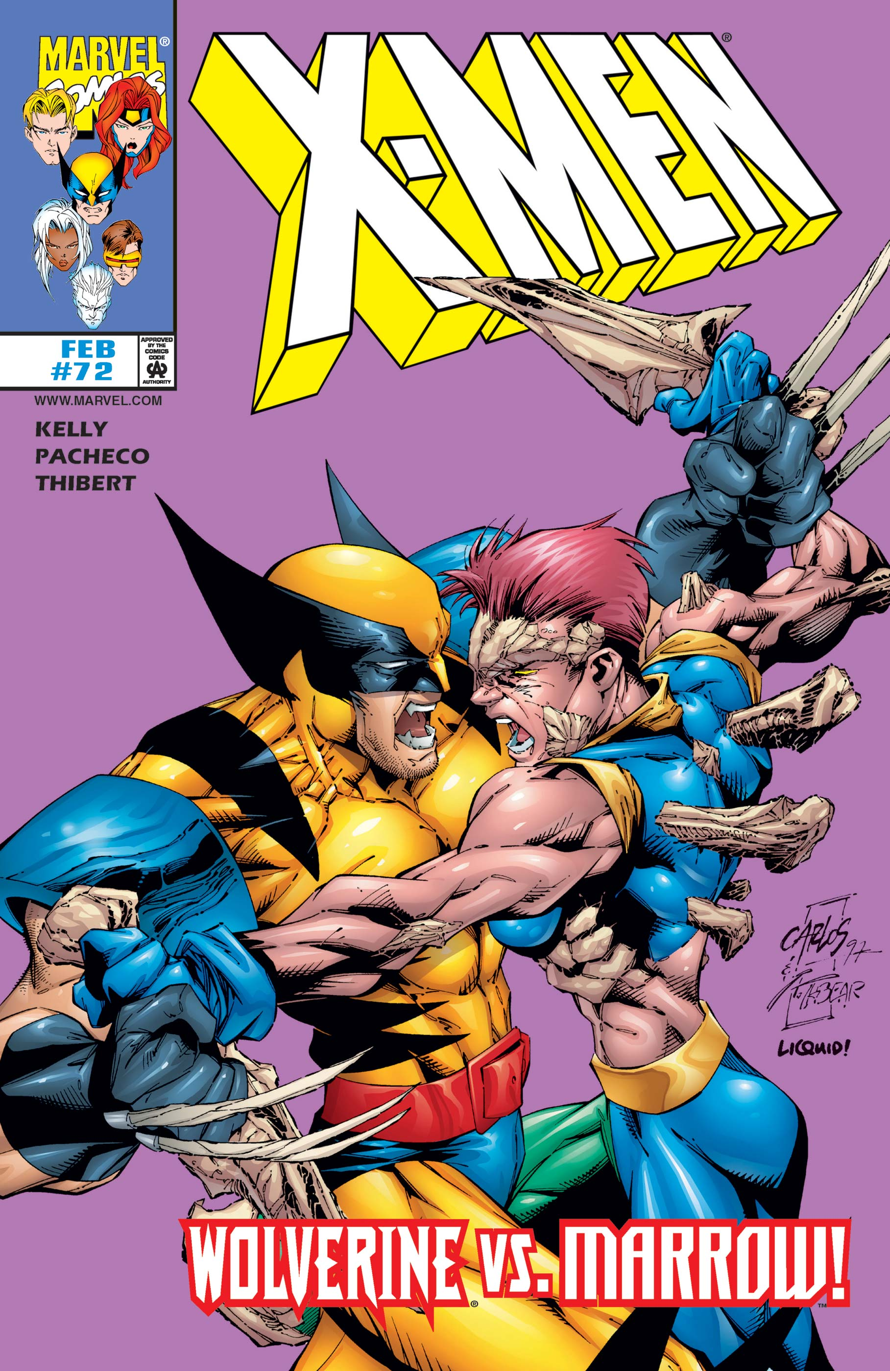 X-Men (1991) #72