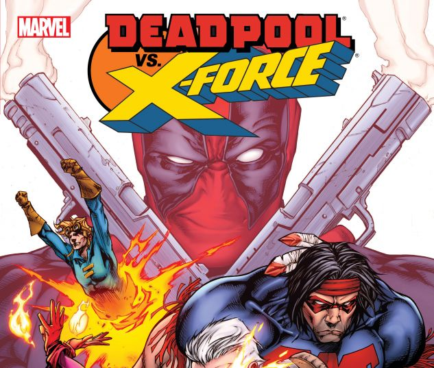 cover from Deadpool Vs. X-Force (2020)