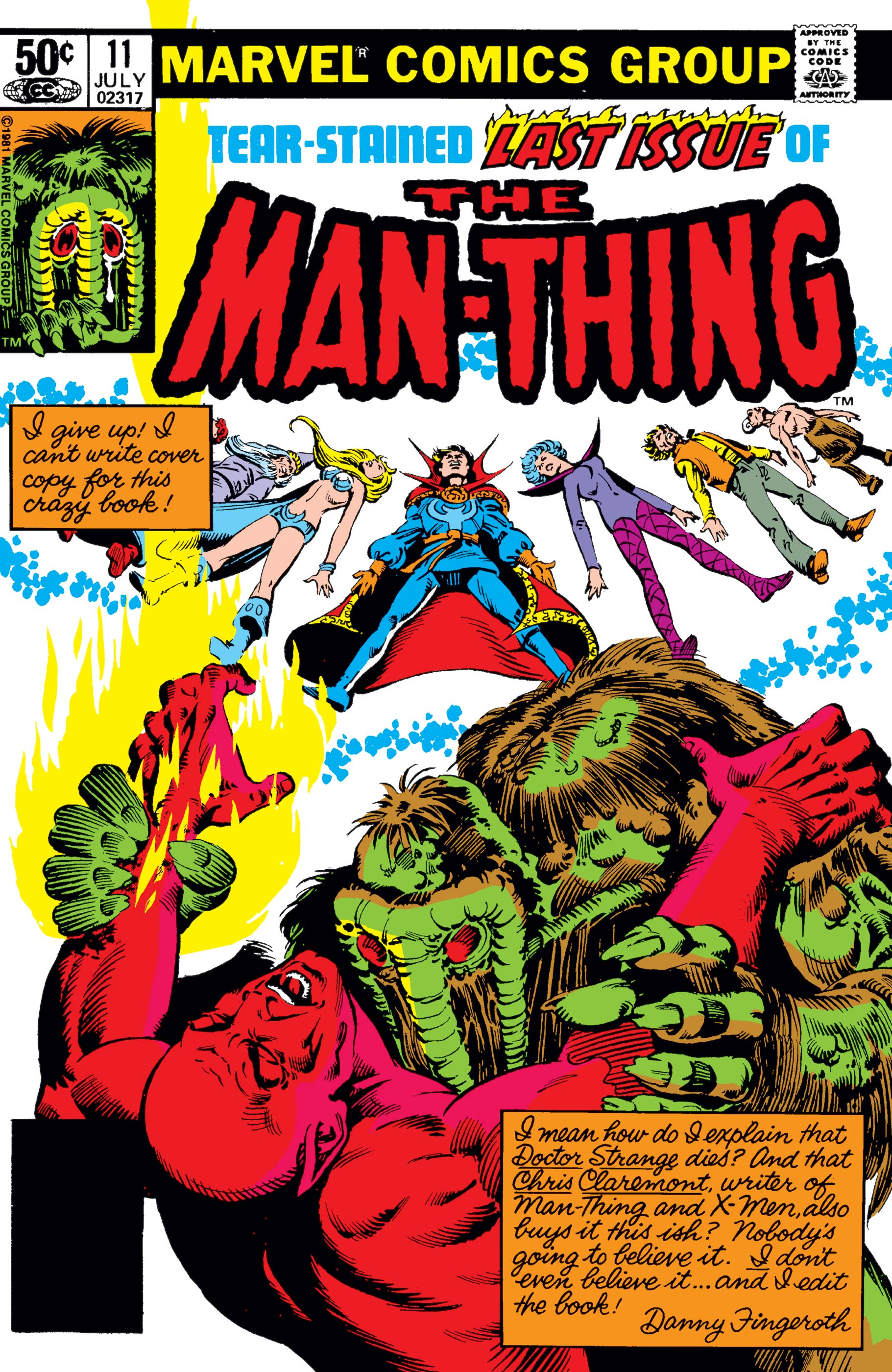 Man-Thing (1979) #11