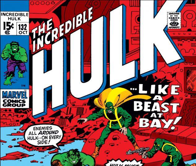INCREDIBLE HULK (1962) #132