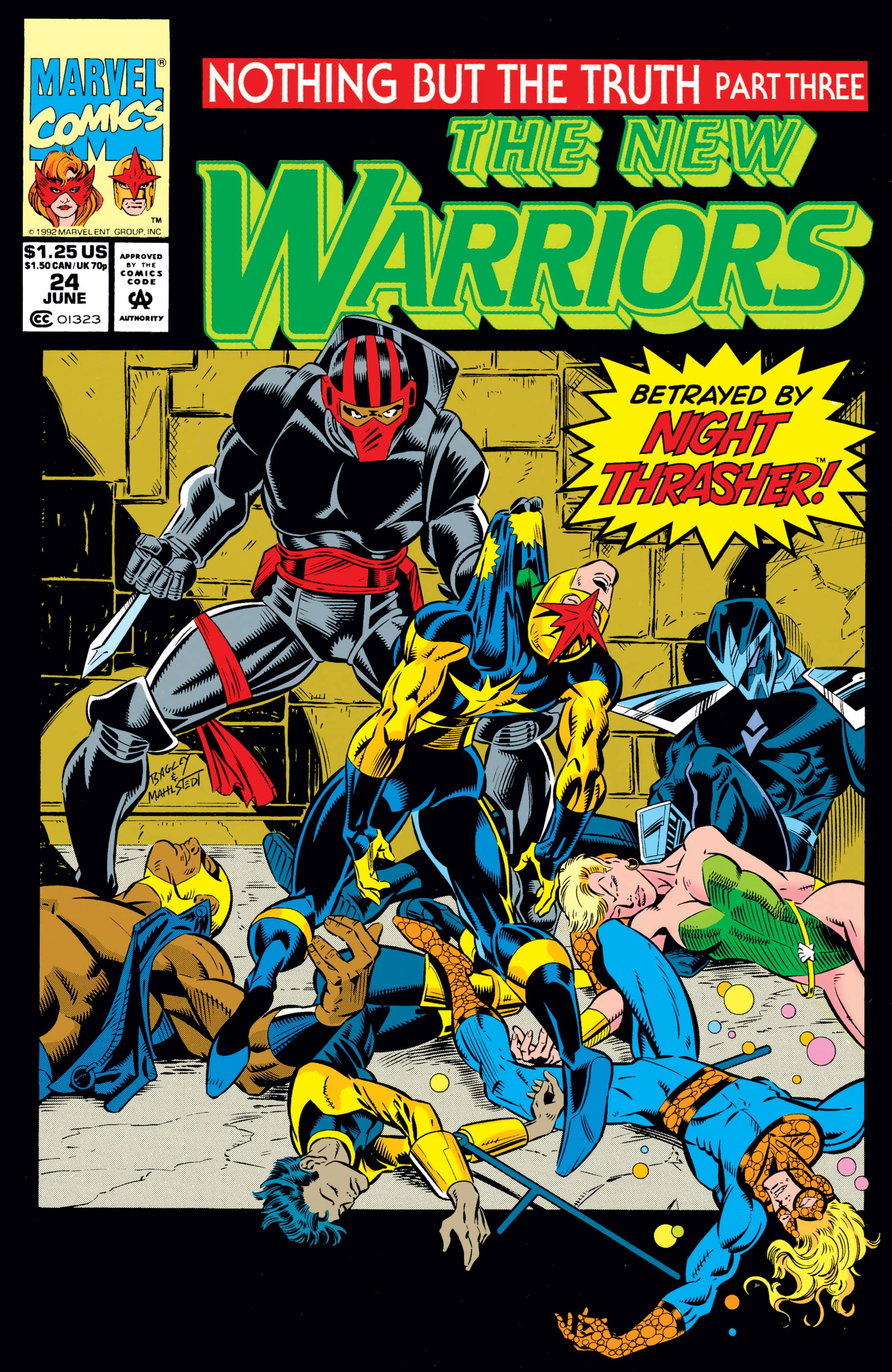 New Warriors (1990) #24