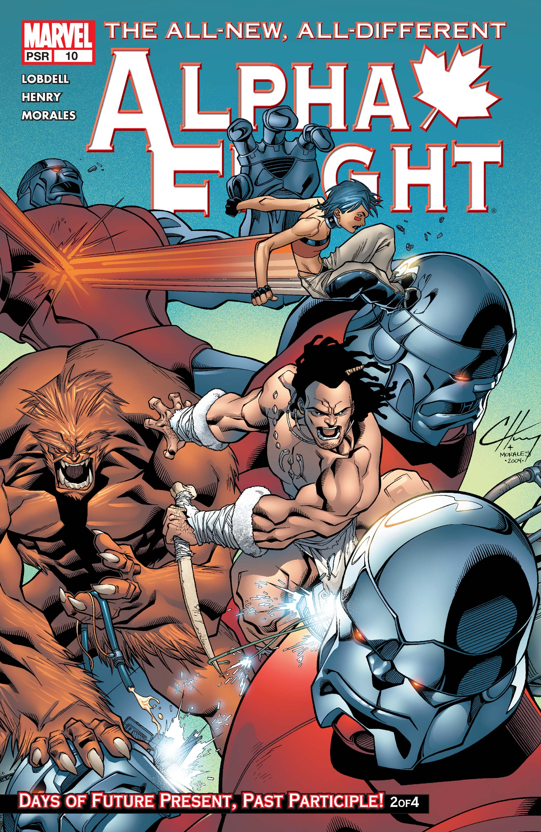Alpha Flight (2004) #10