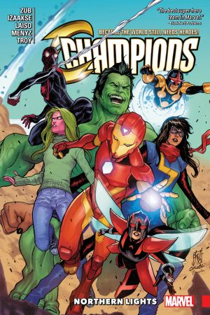 Champions Vol. 4: Northern Lights (Trade Paperback)