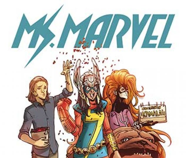 cover from Ms. Marvel Vol. 2 Kids Infinite Comic (2018) #4