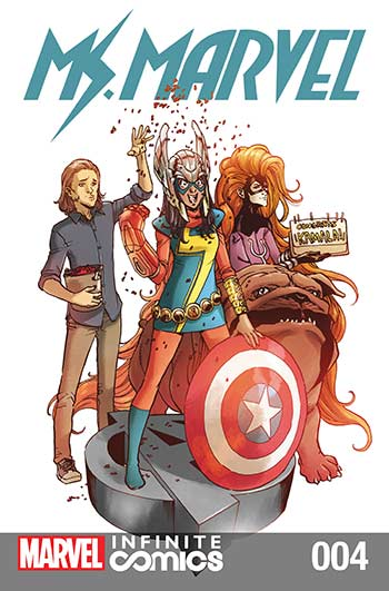 Ms. Marvel Vol. 2 (2018) #4