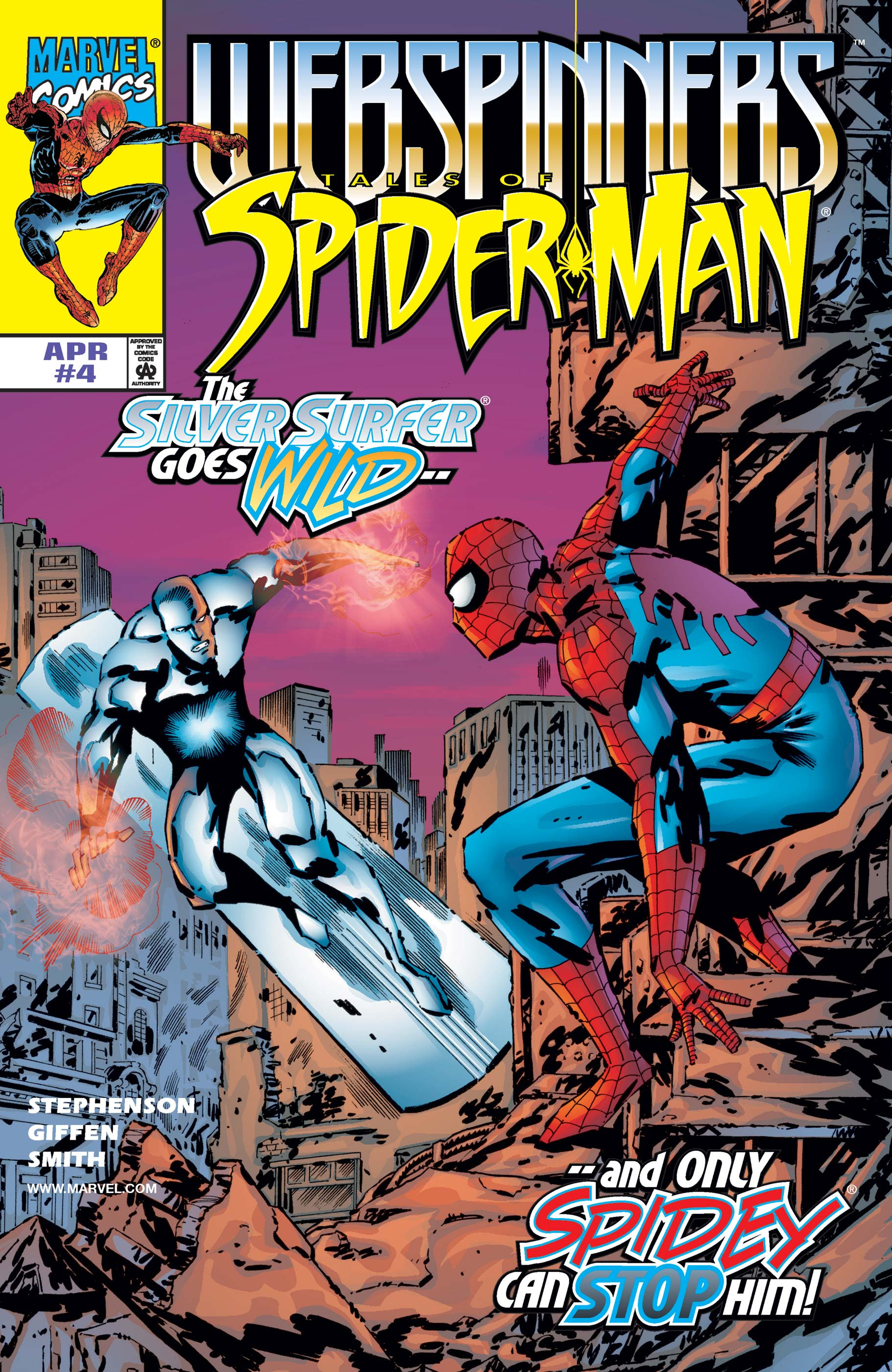 Webspinners: Tales of Spider-Man (1999) #4